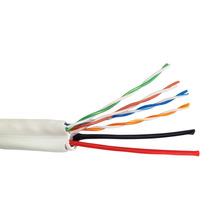 Cable Utp Blanco Categoria 5e Mas 2 Pares De 16 Awg/ Cca/ Bo