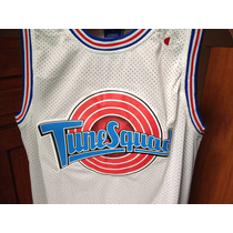 Jersey Jordan Space Jam Bordado, Basketball Retro Coleccion