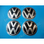 Emblemas Centros De Rin Volkswagen 9 Cm. Tapas Tapon