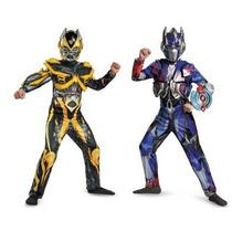 Disfraz Transformers Niño Optimus Prime Bumblebee Halloween