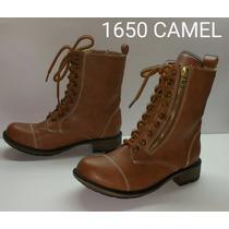 Bota Militar 1650 Camel Tipo H&m Bershka Price Shoes