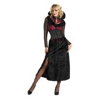Disfraz Vampira Vampiro Mujer Talla Chica 4/6