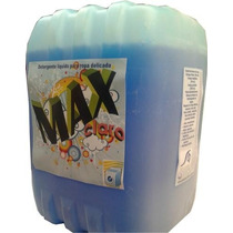 Detergente Neutro Liquido Para Ropa 10 Litros