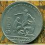 Moneda 200 Pesos Copa De Futbol Mexico 86 Descentrada