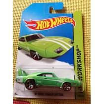 Hot Wheels 69 Dodge Charger Daytona (verde Y Rojo)