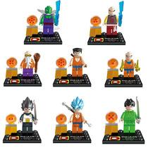 Dragon Ball Z, Minifiguras Compatibleslego Set De 8