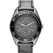 Reloj Armani Exchange Acero Piel Negro Ax1266 Garantia