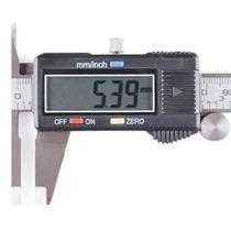 Pie De Rey Calibrador Digital Vernier 15 Cm 6 Pulgadas Acero