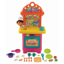 Cocinita Infantil Dora Exploradora Cocina Fisher Price Hm4