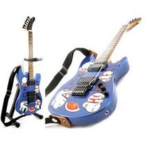 Guitarras A Escala 25cm Estilo Stratocaster Minicustomguitar