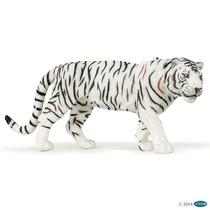 Tigre Blanco Papo Aniamles De Colección Pintados A Mano