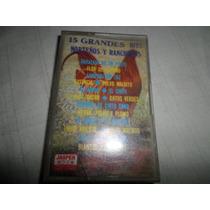 Cassette Original De 15 Hits Norteños Y Rancheros