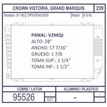 Radiador Ford Grand Marquis Aut 4.6l 91 1992 1993 1994 1995