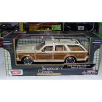 1:24 Chrysler Lebaron Town Country 1979 Bco Motor Max Ccaja