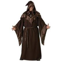 Disfraz De Monje Medieval, Sacerdote Para Adultos