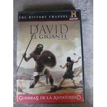 Dvd David El Gigante Guerras De La Antiguedad History
