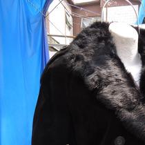 Chamarra Dama C/cuello Desmontable Negro