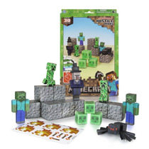 Tb Minecraft Papercraft Hostile Mobs Set, Over 30 Piece