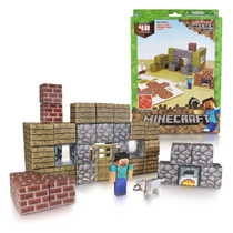Tb Minecraft Papercraft Shelter Set