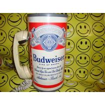 Budweiser Publicidad Lata Telefono Antiguo 32cm De Altura