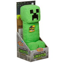 Tb Mojang Official Minecraft Creeper Plush With Sound