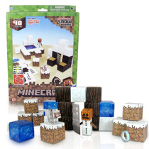 Tb Minecraft Papercraft Snow Set