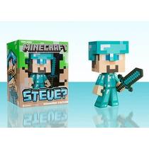 Tb Minecraft Diamond Steve Vinyl 6 Diamond
