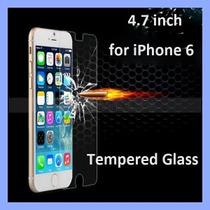 Cristal Templado Para Iphone 6 Tempered Glass Mica + Funda