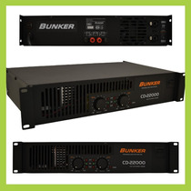 Amplificador Bunker Cd 22000 Electronica Winners