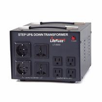 Transformador De Voltaje 5000w 110/220v Subida Y Bajada