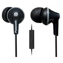 Audifonos Panasonic Ergofit In-ear Earbuds Microfono-negro
