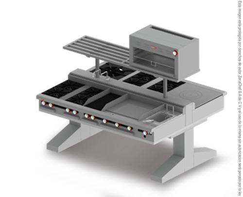 Equipo cocina industrial completa im m 2b 122699 biolh Clasificacion de equipo de cocina