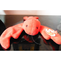 Peluche Langosta Pinchers Ty Beanie Babies Mar Red Lobster