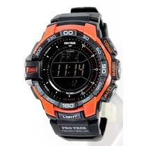 Reloj Casio Protrek Prg270-4 Solar Triple Sensor Wr100m