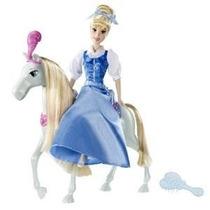 Barbie Cenicienta Y Su Caballo Nueva En Su Caja