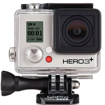 Gopro Hero3+ Silver Edition, 1080p, 10mp, App, Wi-fi, Agua