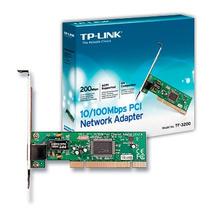 Tarjeta De Red Tp Link Ethernet Pci Adaptador Ieee 802.3,u,x