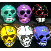 Figura De Calaveritas Grande Halloween Dia De Muertos Craneo