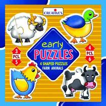 Primeros Años Puzzle - Animales Creativo Puzzles Granja Apr