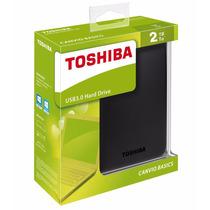 Disco Duro 2 Tb Toshiba Canvio Basics Externo 2.5 Usb 3.0