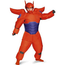 Red Baymax Inflables Kids Costume