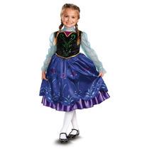 Disfraz Vestido Ana Frozen Disney Original Importado Hm4