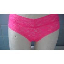 Bikini Panty Encaje Cachetero American Eagle Rosa Neon Sexy