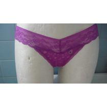 Bikini Panty Encaje Cachetero American Eagle Morado
