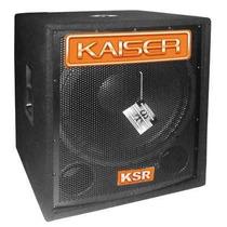 Bafle Kaiser Subwoofer Activo 18 Pulgadas Graves Amplificado