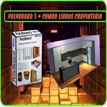 Programa Crear Diseñar Cocinas Polyboard V5 3d + Optimizador