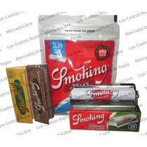 Roladora Smoking + Smoking Eco + Smoking Brown + Filtros