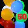 50 Globos Luminosos Mayoreo Led Para Fiestas Y Eventos