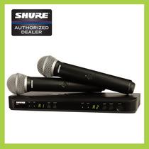 Vocal Combo Microfonos Inalamabricos Blx288/pg58 Shure