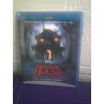 Blu Ray Monster House En Español Pixar Walt Disney